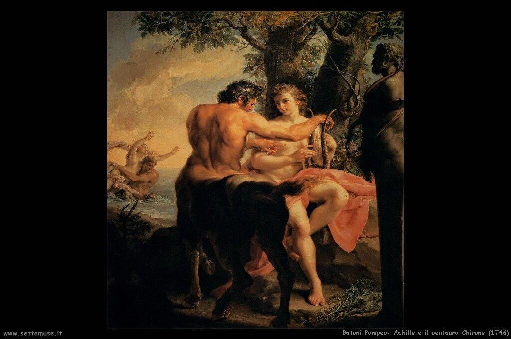 Achille e il centauro Chirone