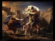 Enea in partenza da Troia