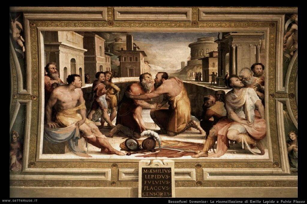 Riconciliazione di Emilio Lepido e Fulvio Flacco