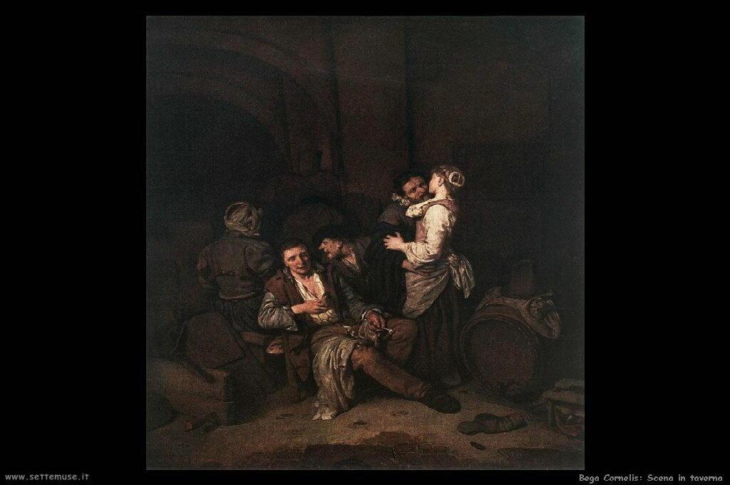 Scena in taverna