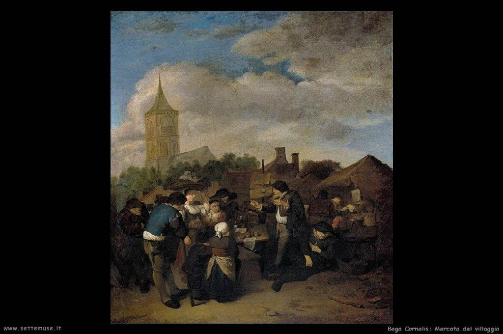 Mercato al villaggio