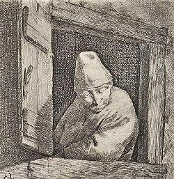 Disegno di Cornelis Bega o Cornelis Pietersz Begijn