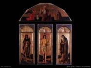 bellini jacopo Trittico di san Sebastiano
