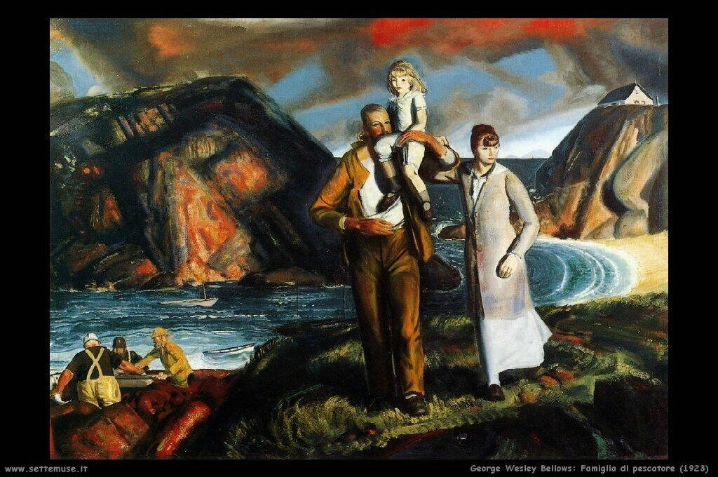 george_wesley_bellows_001_fisherman_family_1923