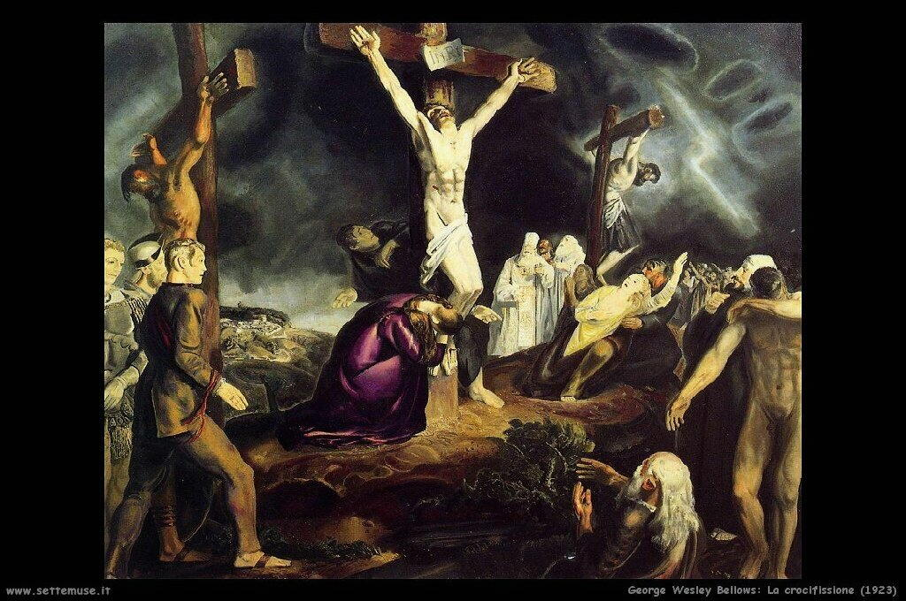 george_wesley_bellows_008_the_cricifixion_1923