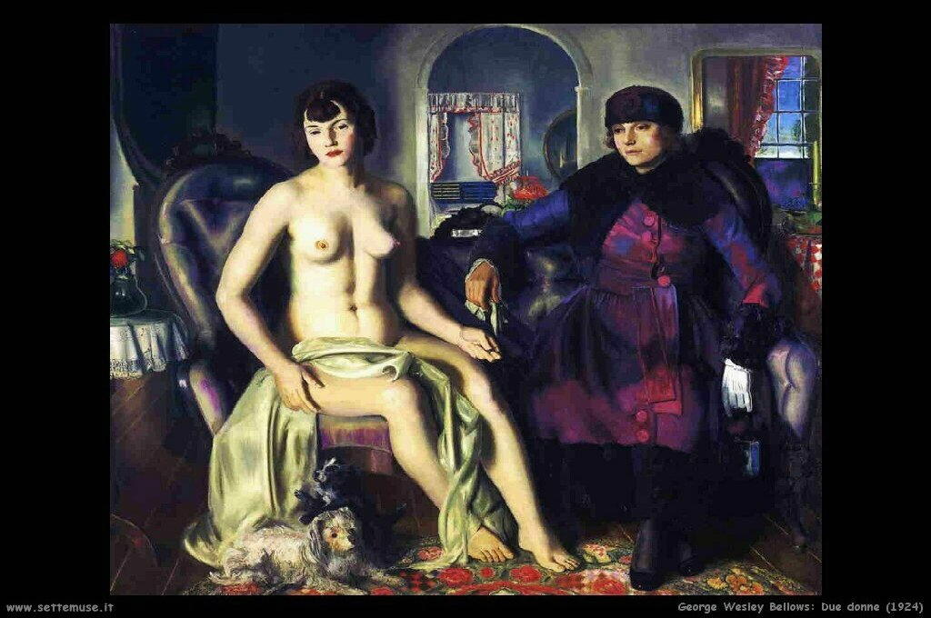 george_wesley_bellows_009_two_women_1924