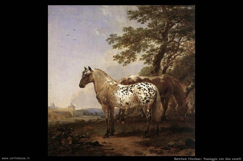 berchem_nicolaes_516_landscape_with_two_horses
