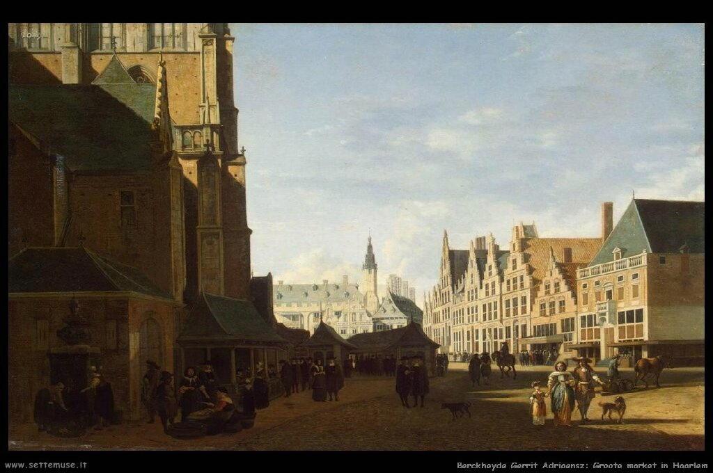 Mercato Groote in Haarlem