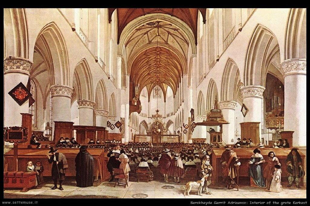 Interno di Grote Kerk