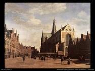 Piazza del mercato ad Haarlem