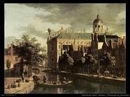 berckheyde gerrit adriaensz Nieuwezijds in Amsterdam