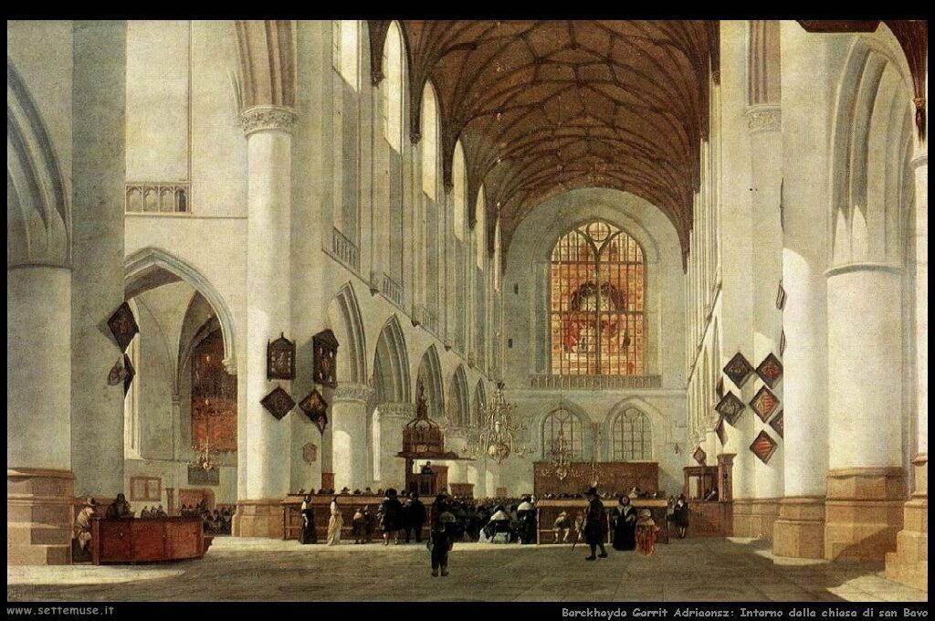Interno della chiesa di S. Bavo