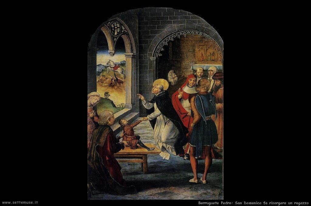 San Domenico fa risorgere un ragazzo