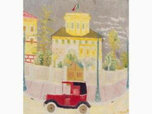 Renato Birolli: Taxi Rosso