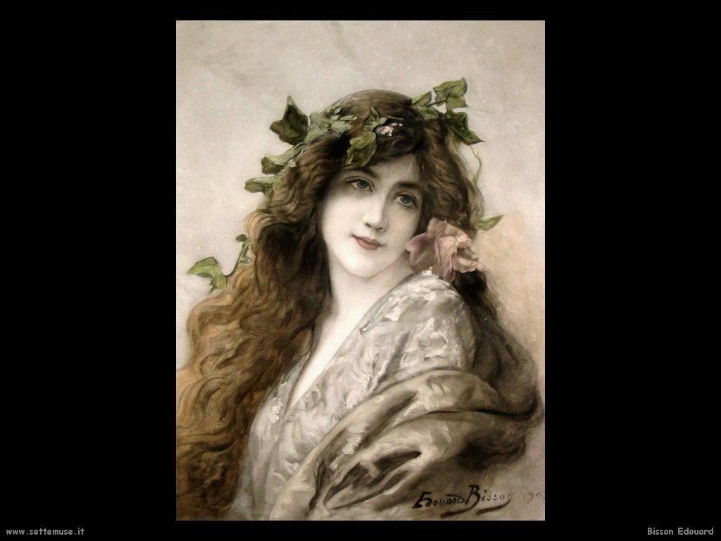 Bisson Edouard biografia e opere pittoriche preraffaellite