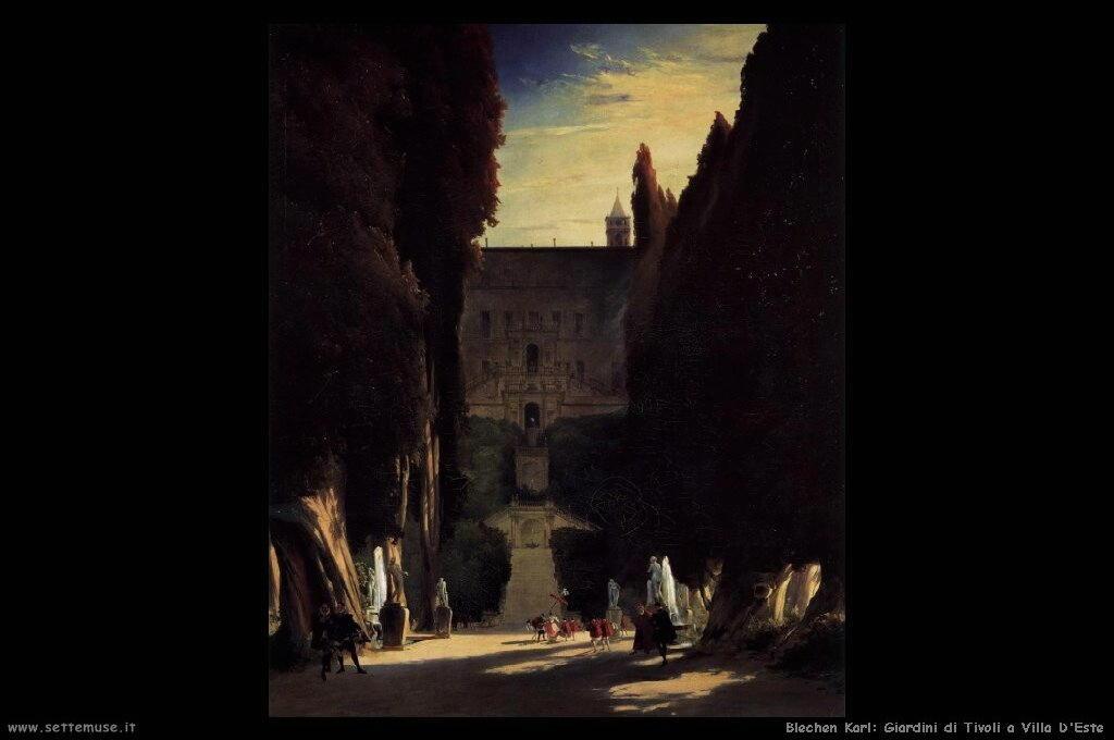 Giardini di Tivoli a Villa D'Este