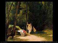 Bagnanti nel parco di Terni