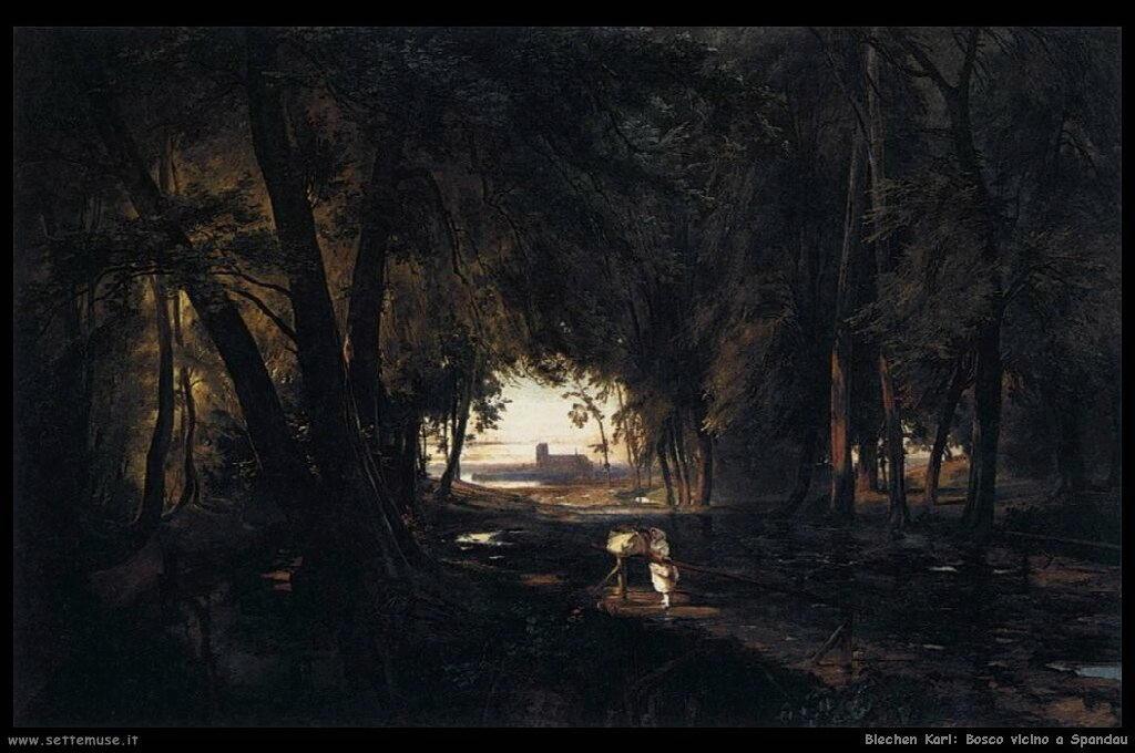 Il bosco vicino Spandau