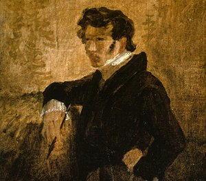 Ritratto di Carl Blechen