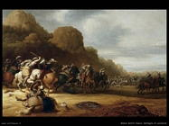Scena di battaglia a cavallo