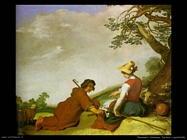 Pastore e pastorella