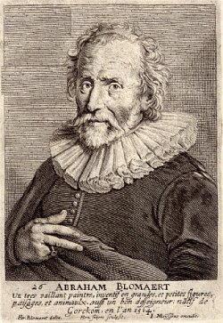 Ritratto di Bloemaert  Abraham