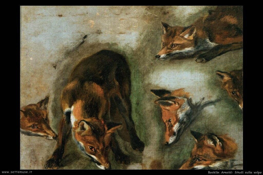 boel_pieter_503_studies_of_a_fox