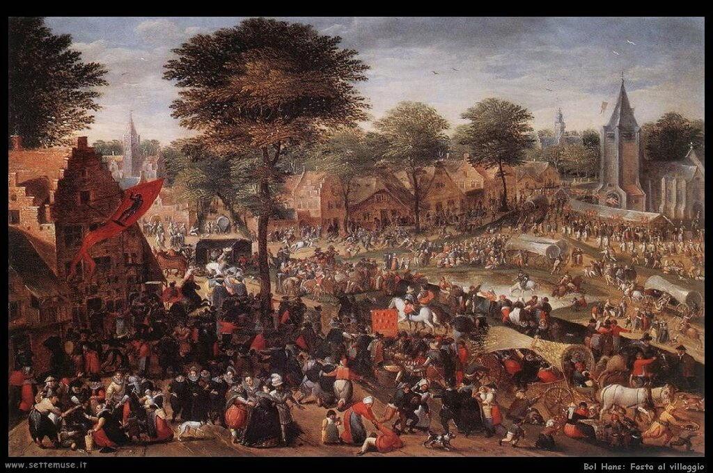 Fiera annuale alla festa del villaggio