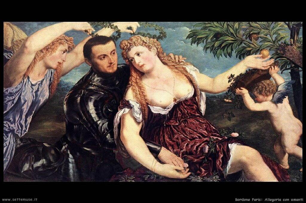 Allegoria con amanti