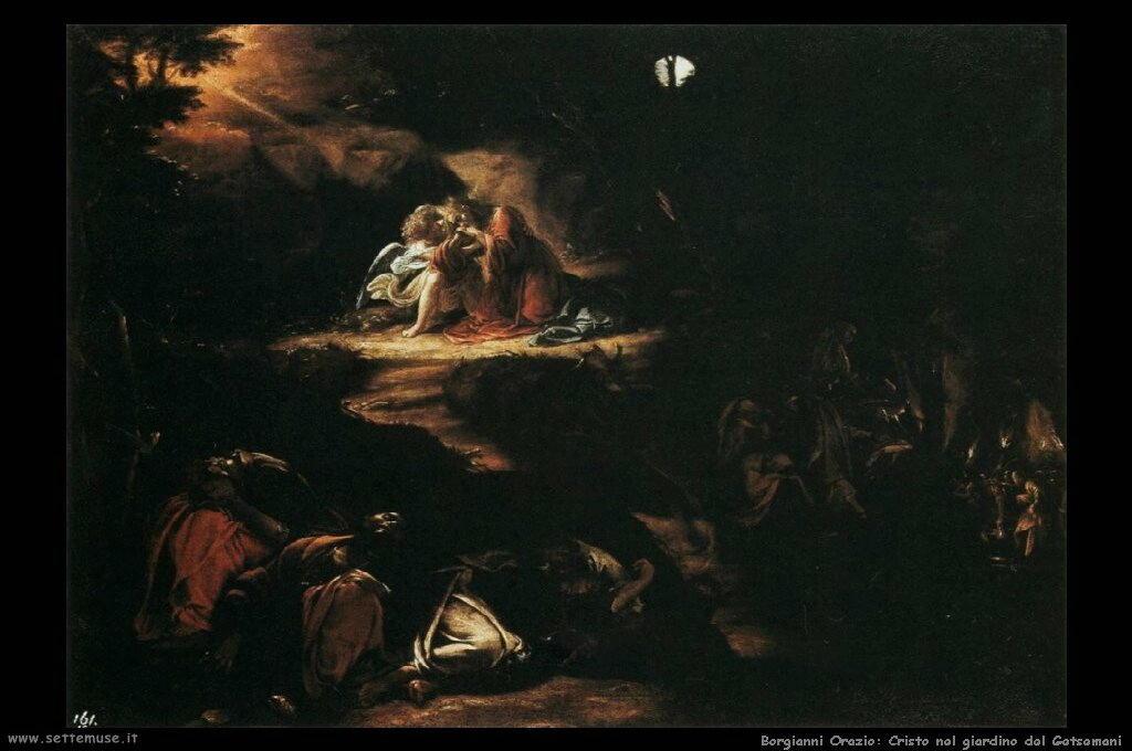 Cristo nel giardino di Getsemani