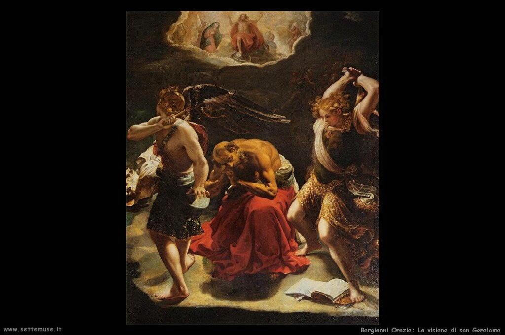La visione di san Girolamo