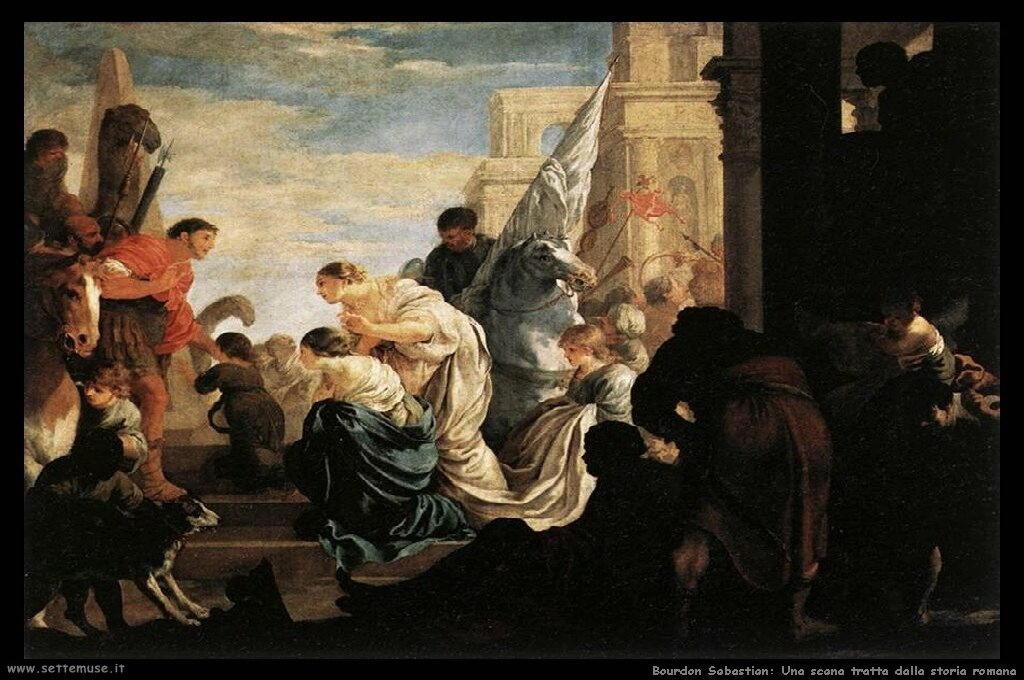 Scena dalla storia romana