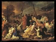 Mosè e il serpente impudente
