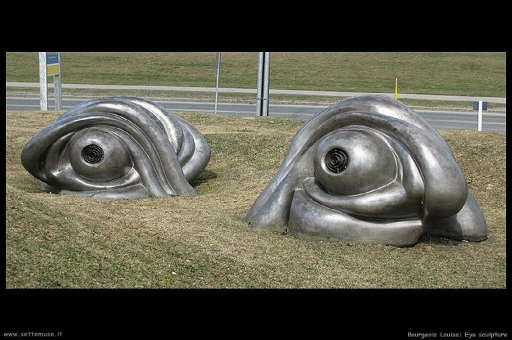 Eye sculpture