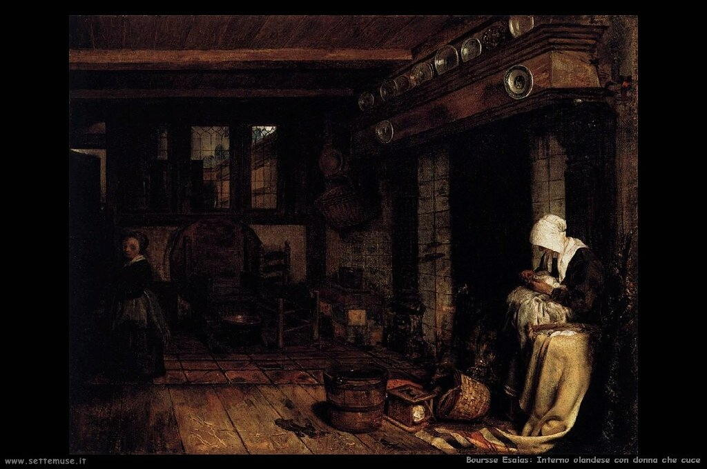 boursse_esaias_502_dutch_interior_with_woman_sewing