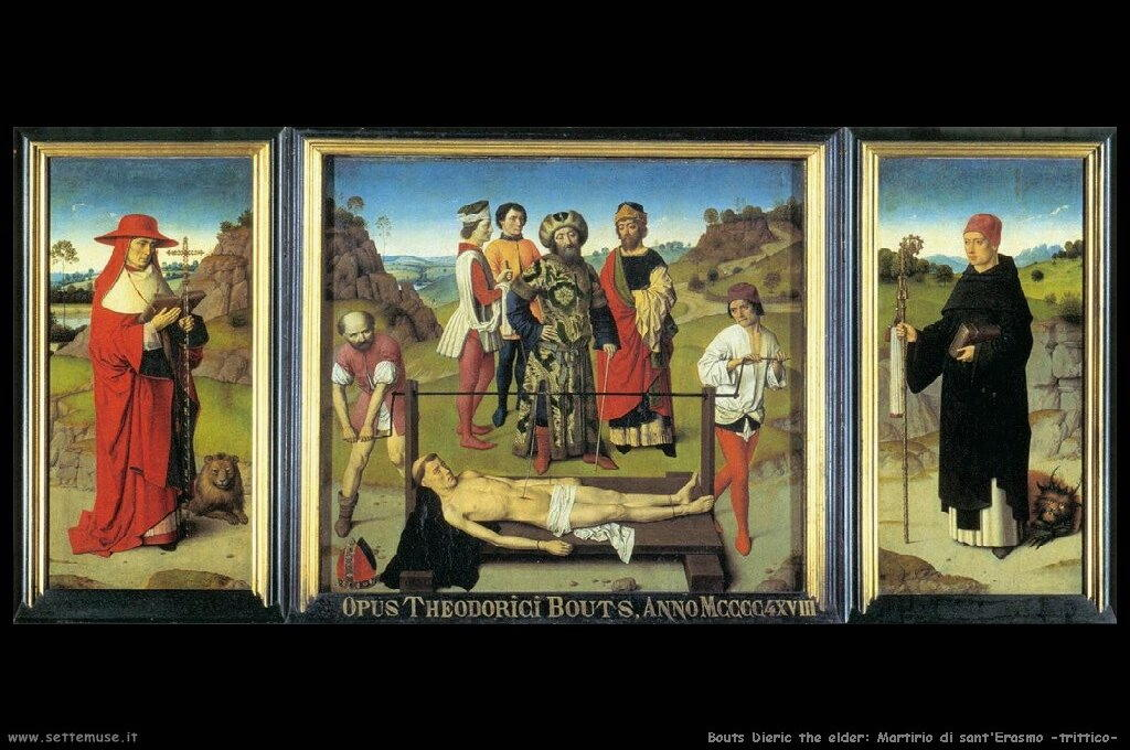 bouts_dieric_the_elder_501_martyrdom_of_st_erasmus_triptych
