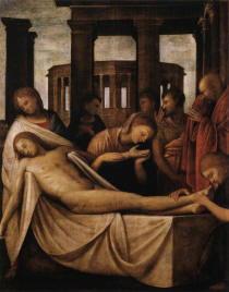 Bramantino Lamento sul Cristo morto