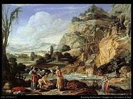 Paesaggio col ritrovamento di Mosè