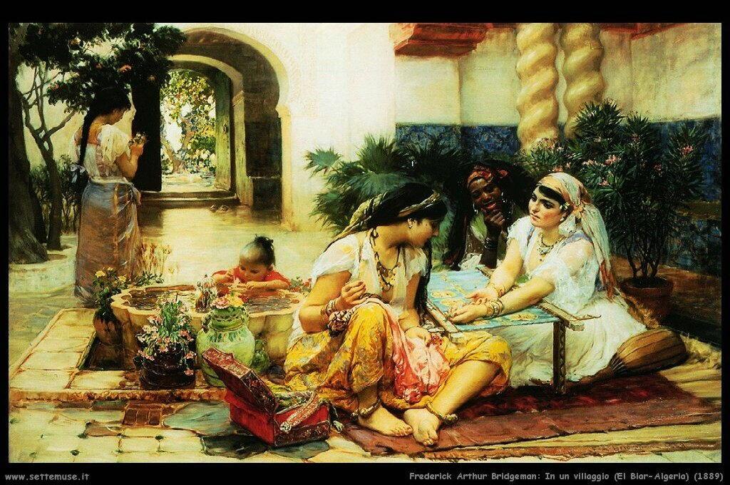 bridgman_frederick_arthur_001_in_a_village_el_biar_algeria_1889