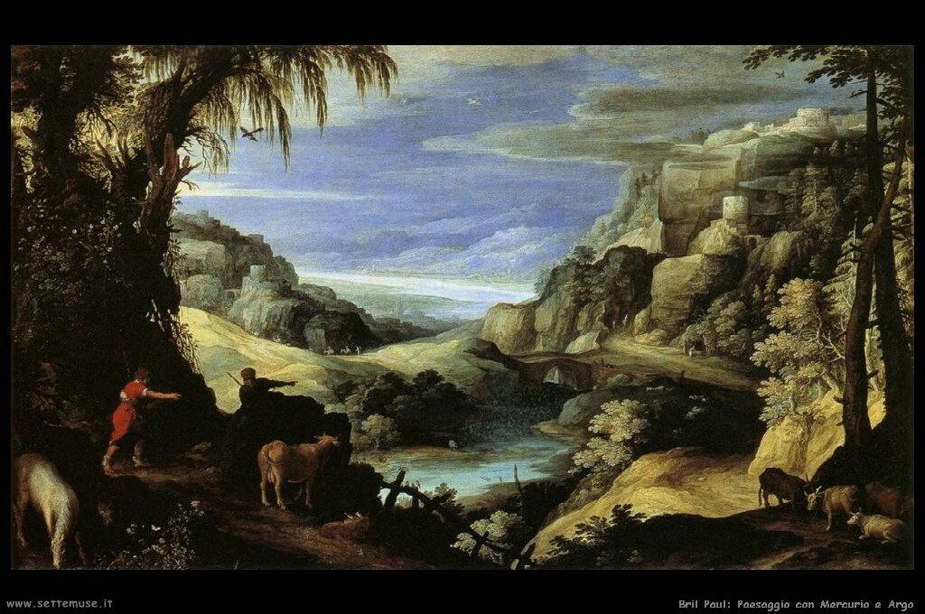 Paesaggio con Mercurio e Argo