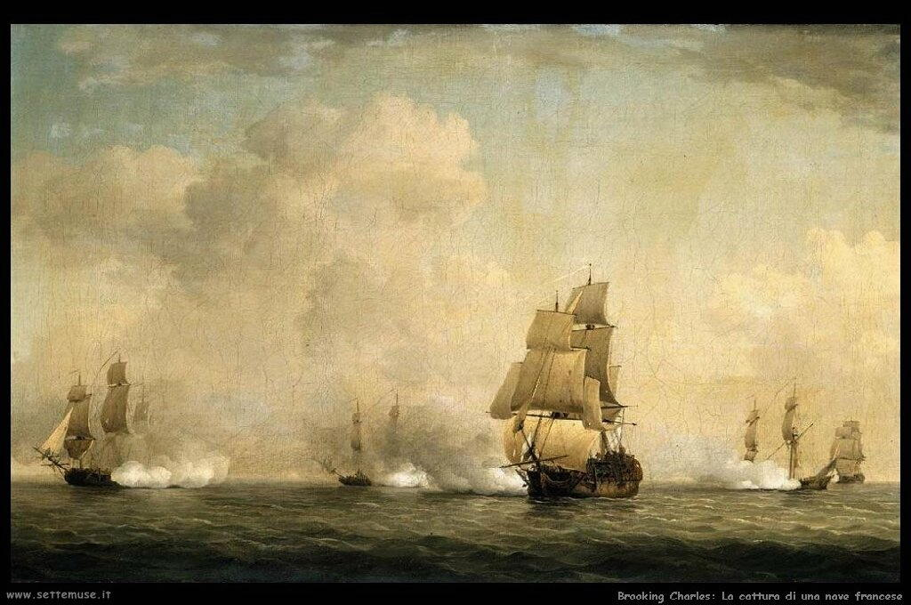 La cattura di una nave francese dal Roy