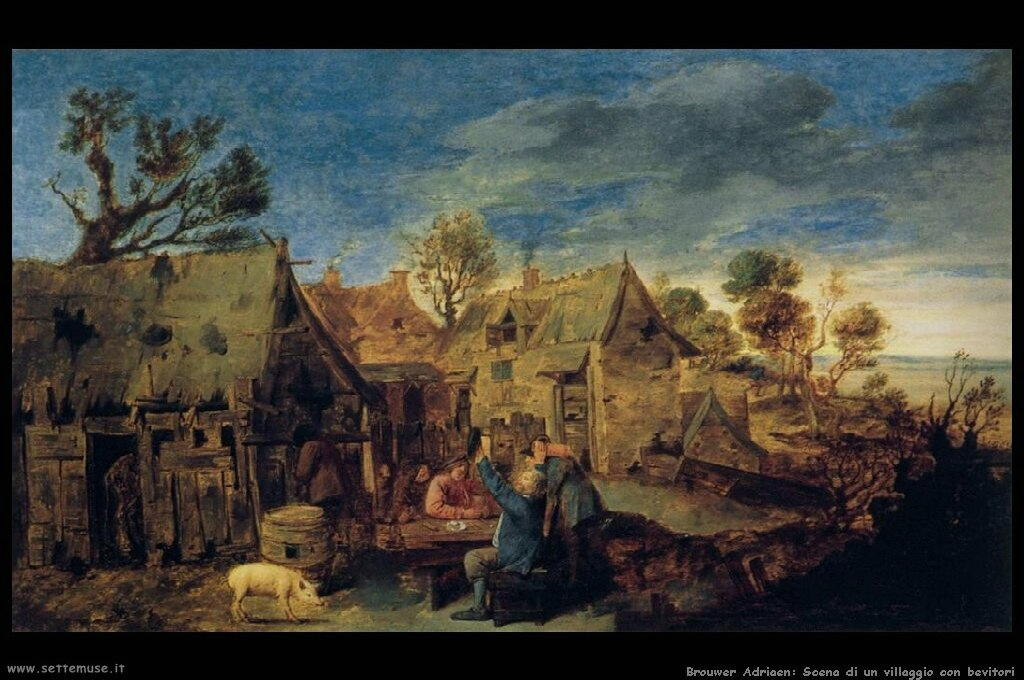 brouwer_adriaen_504_village_scene_with_men_drinking