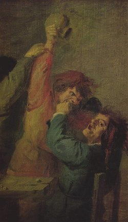Dipinto di Brouwer Adriaen