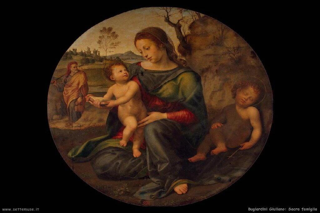 Vergine e bambino con san Giovanni infante