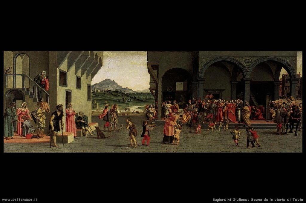 Scene dalla storia di Tobia (6)