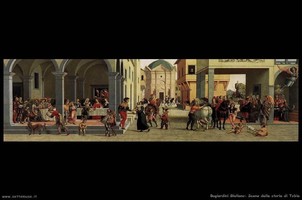 Scene dalla storia di Tobia (7)