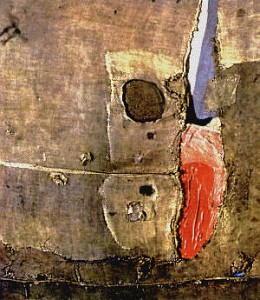 Alberto Burri un dipinto