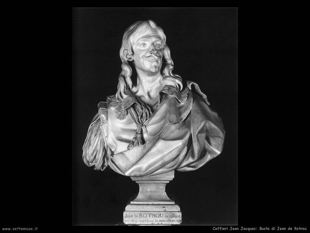 caffieri jean jacques  Busto di Jean de Rotrou