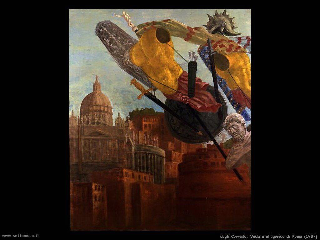Veduta allegorica di Roma (1937)