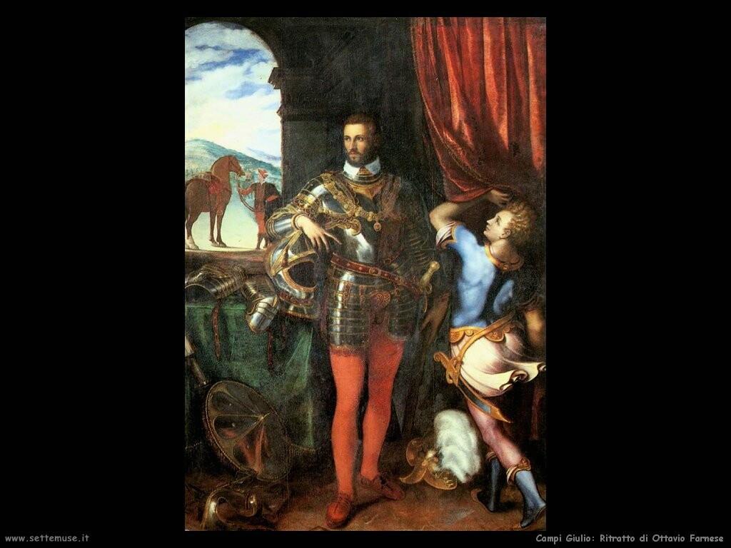 Ritratto di Ottavio Farnese